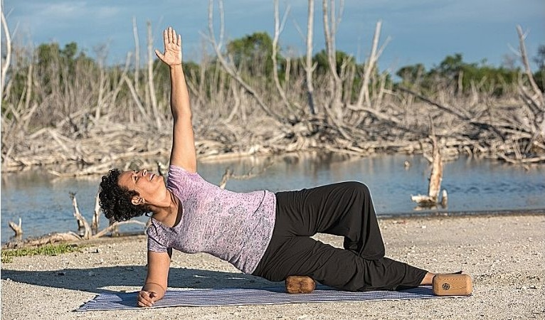 yoga block therapy